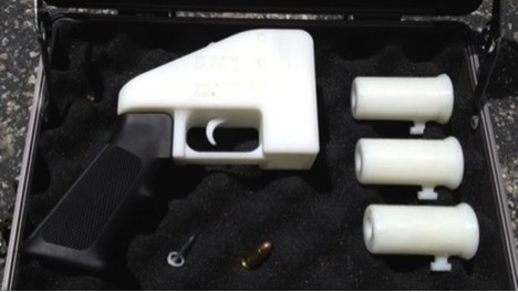 Defense Distributed 3D Printed Gun Successfully Fired in U.S.