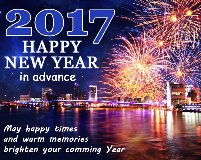 2017 Happy New Year Advance Wishes, Messages for Whatsapp & Facebook 2