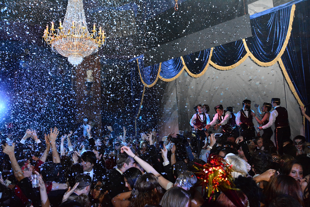 Glamorous New Year Eve parties in New York