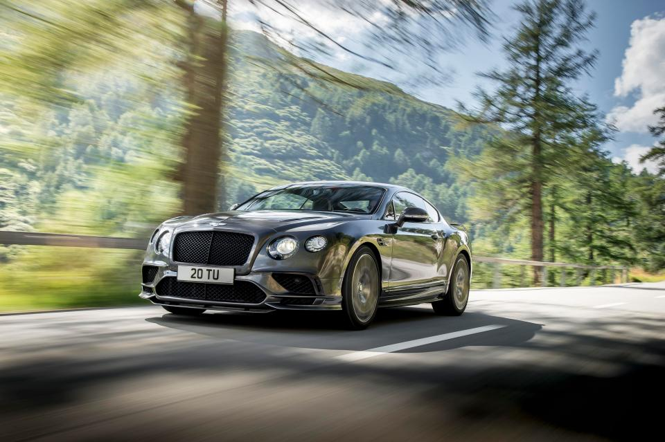 Bentley Unveils World's Fastest Luxury Car
