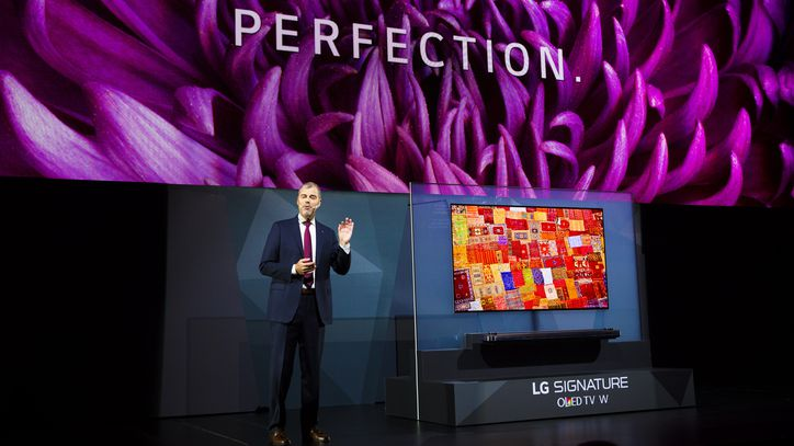 CES 2017: LG Launches New TV Series
