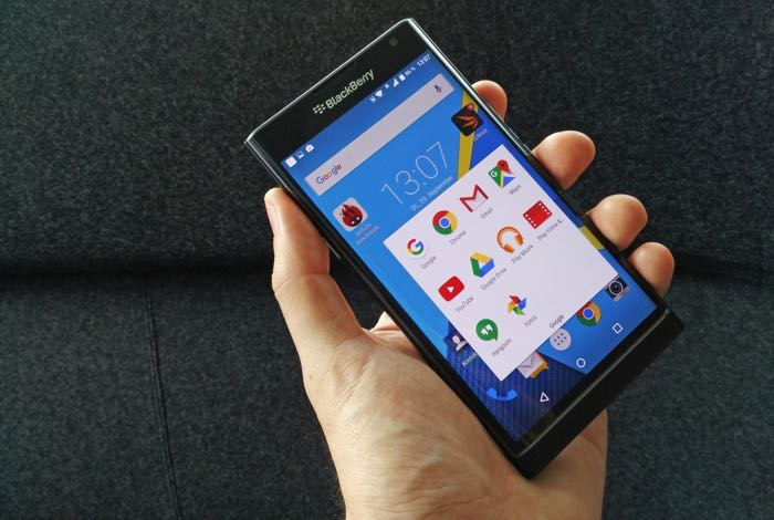 Blackberry Priv to Get Security Update