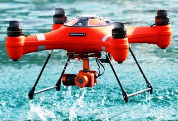 The Waterproof Splash Drone 3 Officially Released on Kickstarter