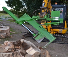 Wood Splitting Machine